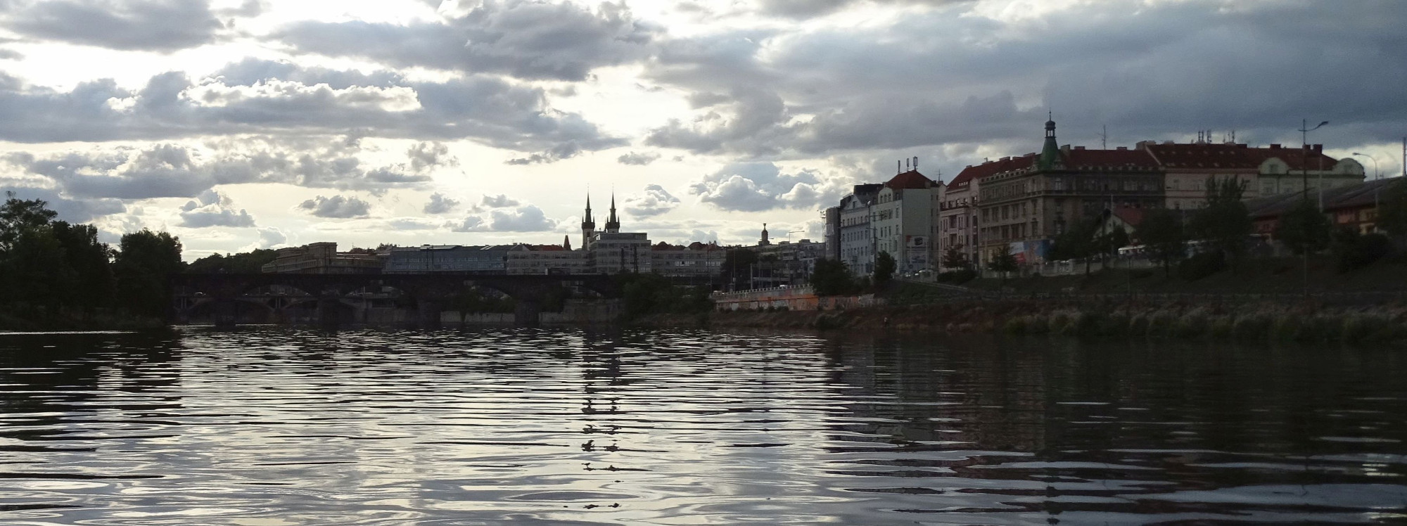 View from the Vltava River