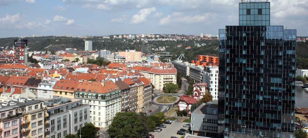 Exploring change: An audio walking tour through Prague's Holešovice