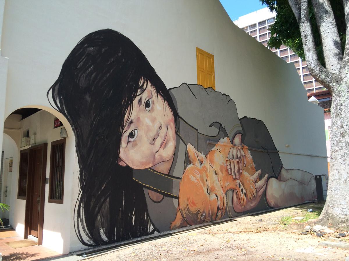 Singapore Street Art - Ernest Z Lion Cub RESIZED