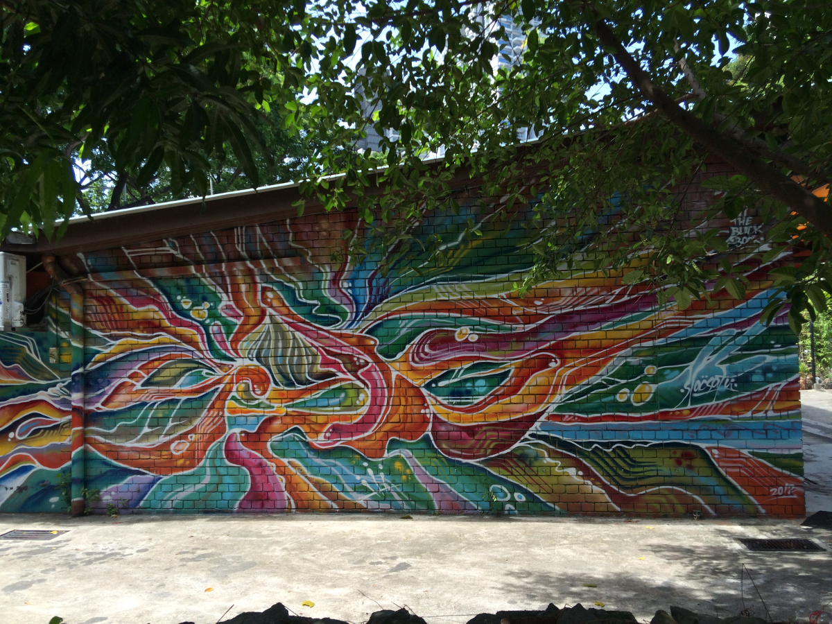 Singapore Street Art - Slacsatu Batik RESIZED