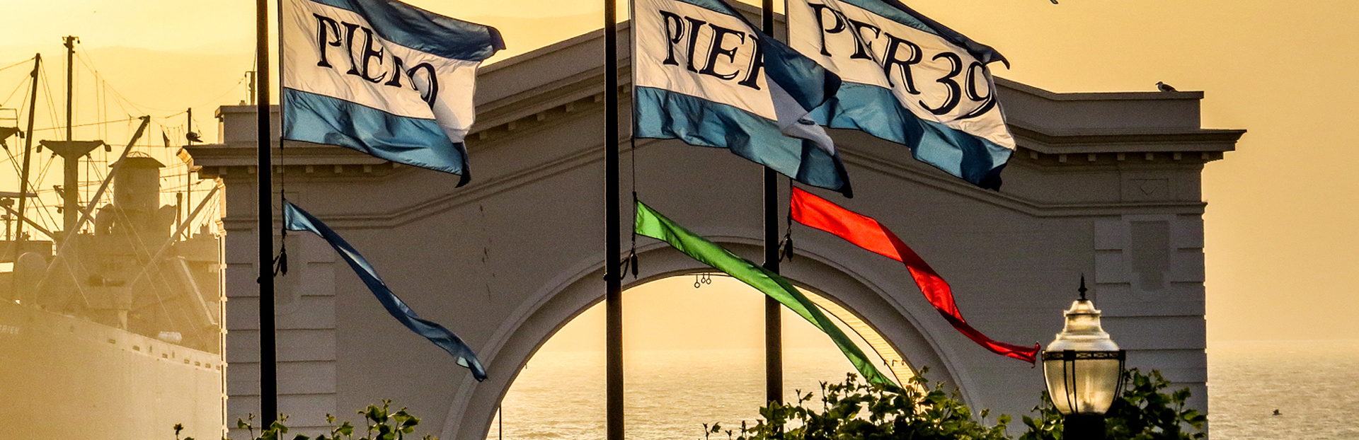 Pier 39 sunset