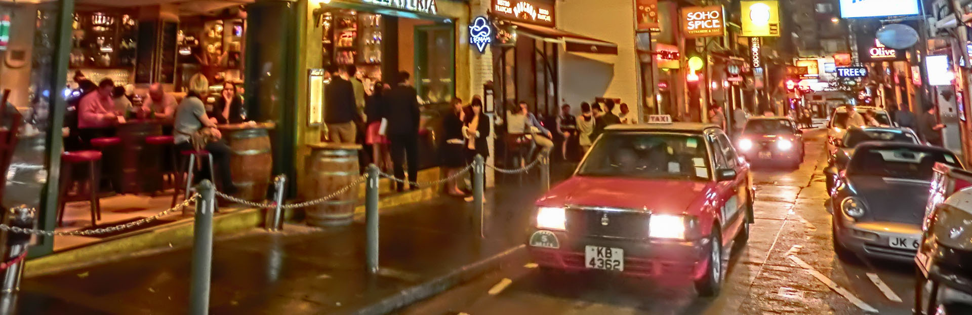 Hong Kong audio tour: A Journey Through Soho