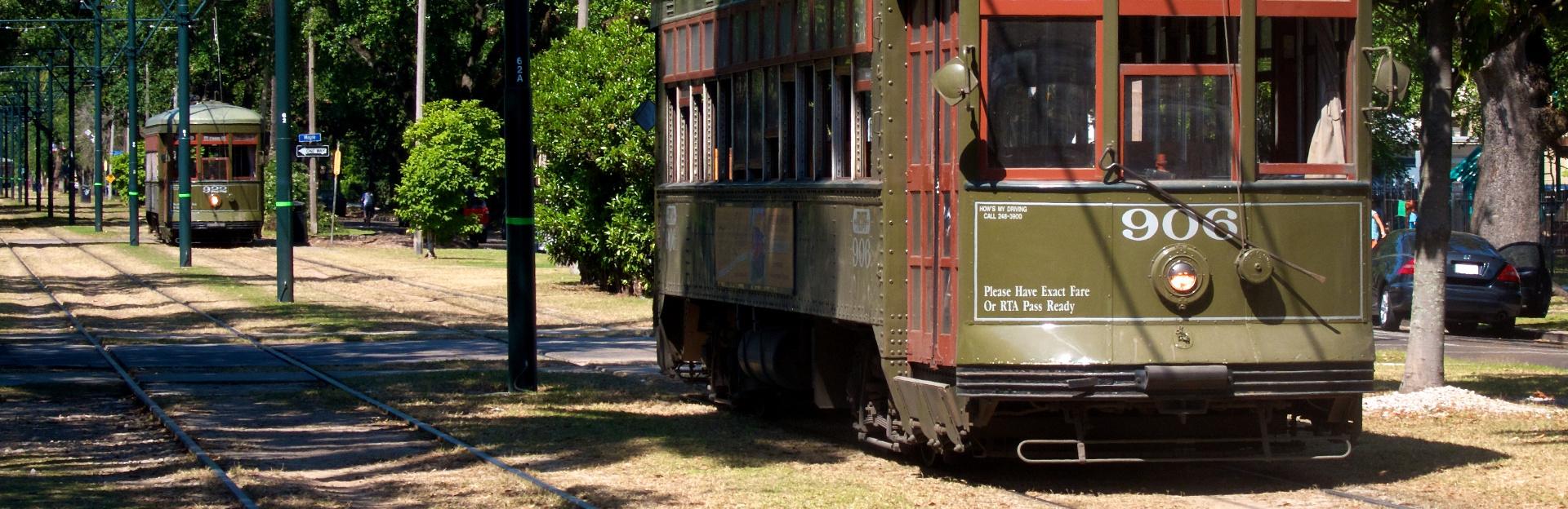 New orleans streetcar tour
