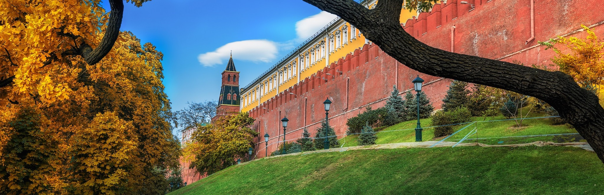 Moscow audio tour: The Red Square Garden