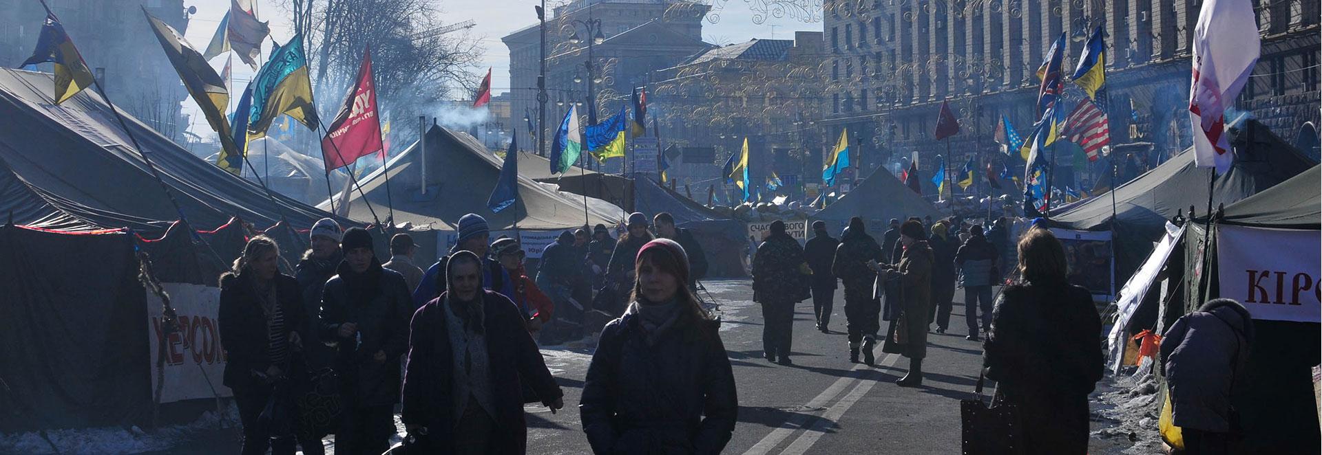 Kiev audio tour: Memories of a Revolution