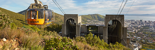 Lower cableway station tour