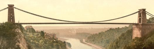 Clifton suspension bridge c1900 2