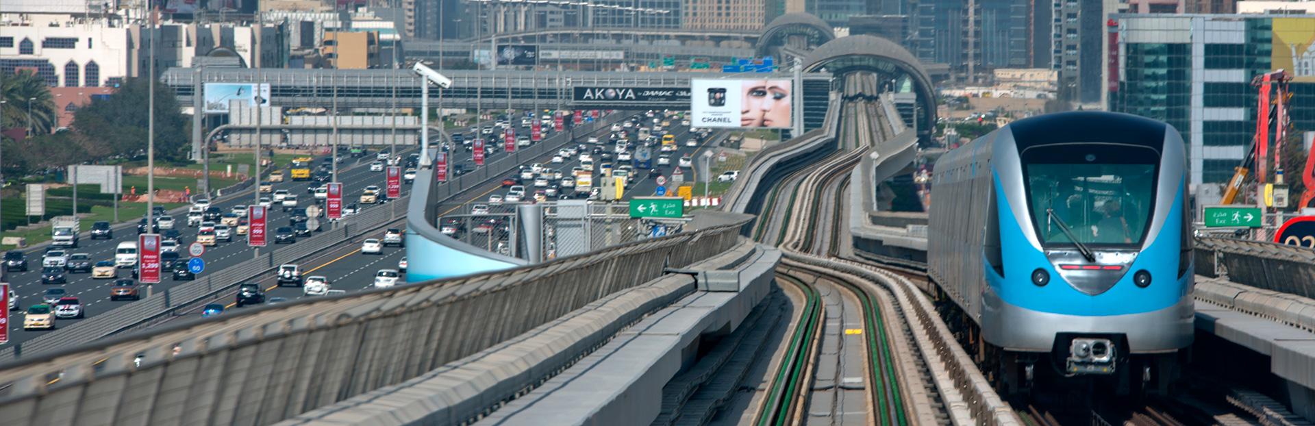 Dubai audio tour: 地铁时光:从哈利法塔去往迪拜老城区