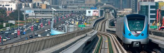 Dubai metro mall start