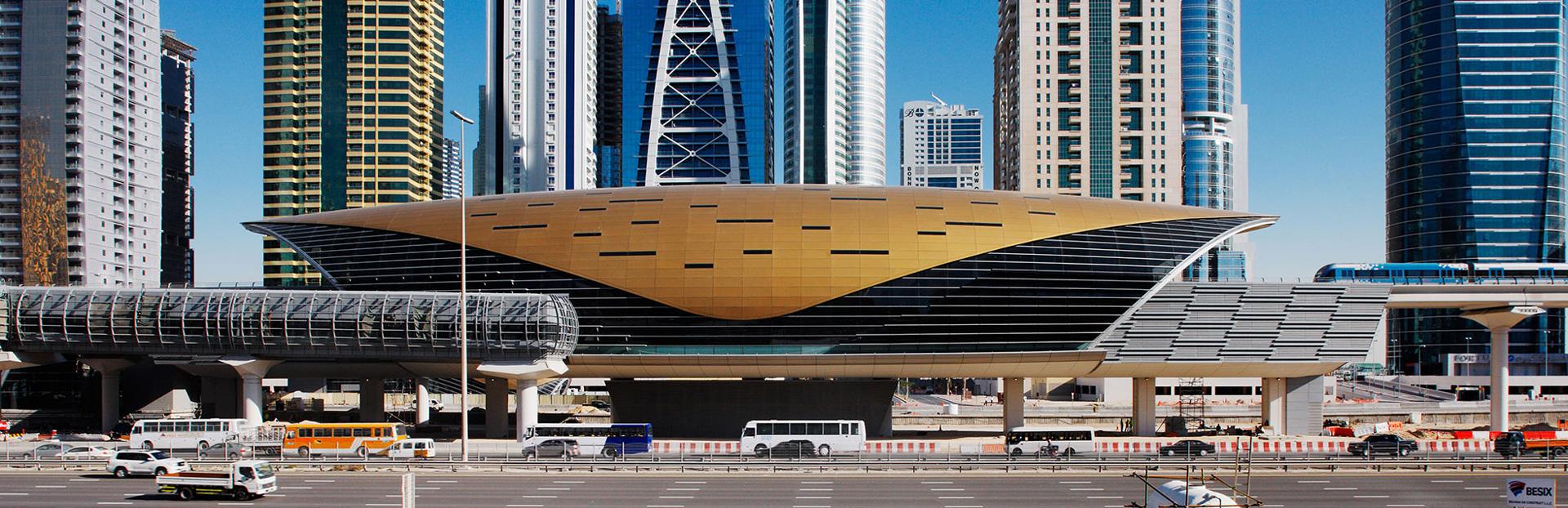 Dubai audio tour: Metro Moments: New Dubai from DMCC
