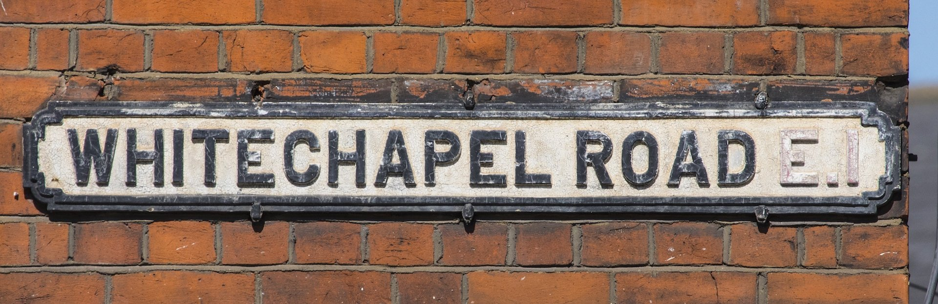 London audio tour: Art and Murder in Whitechapel