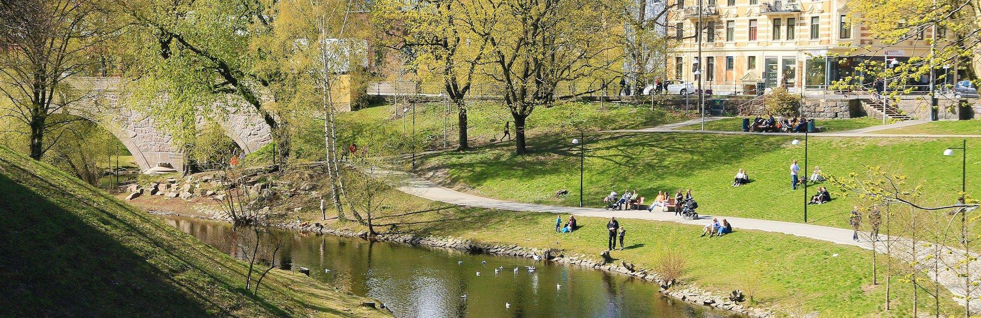 Oslo audio tour: Upstream: Along the riverside of Akerselva