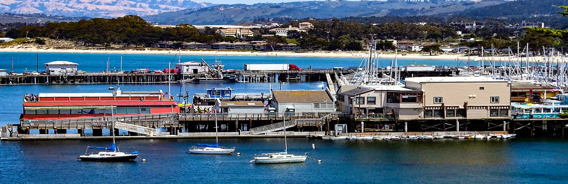 Monterey Peninsula audio tour: Monterey Bay Driving Tour: From Del Monte Beach to Cannery Row and the Aquarium