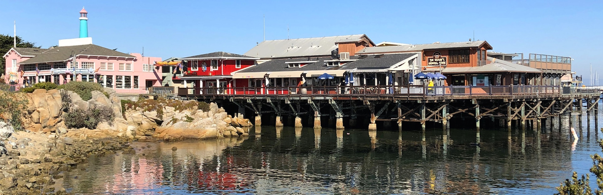 Monterey Peninsula audio tour: Monterey State Historic Park and Fisherman's Wharf Walking Tour