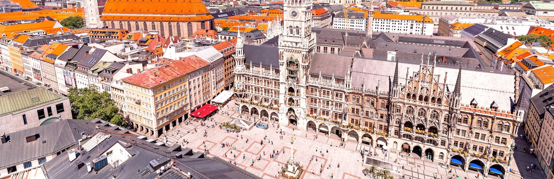 Munich audio tour: Munich through the centuries: highlights of the historic city centre