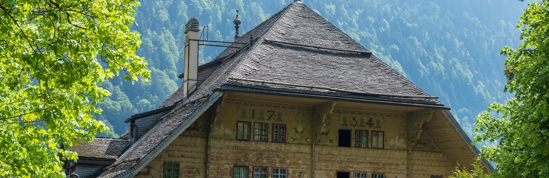 Rossinière audio tour: Chalets, cloches et Balthus: Un village magnifique dans les Pré-alpes