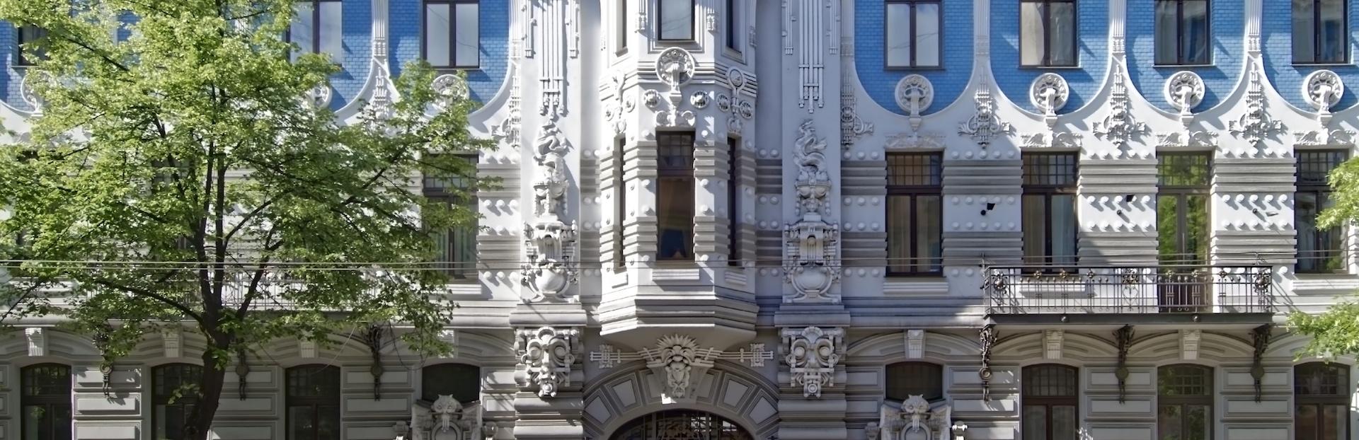 Riga audio tour: Riga's Architecture: The World's Art Nouveau Capital