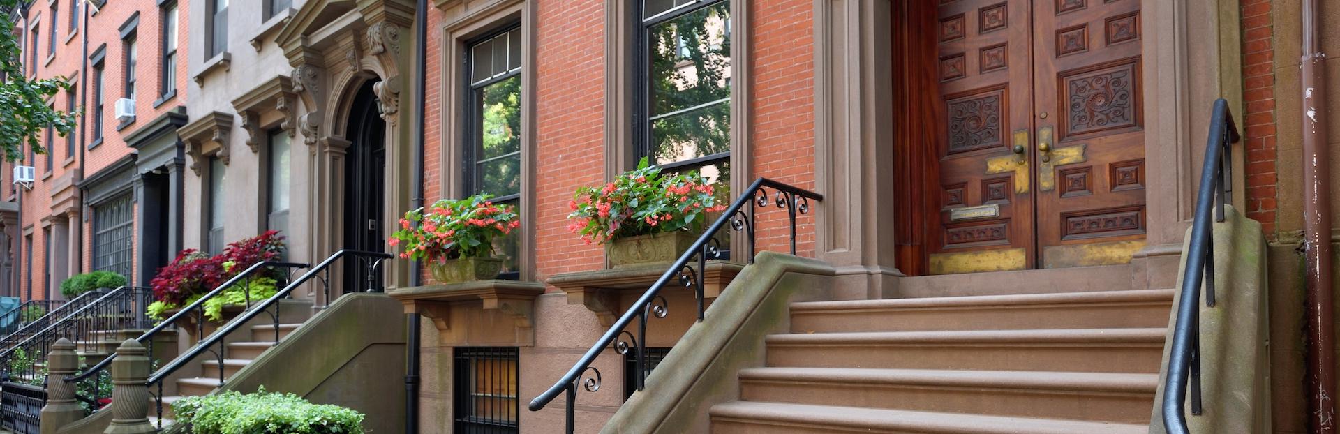 New York City audio tour: Brooklyn Heights: Um passeio pelo seu bairro histórico até o Promenade