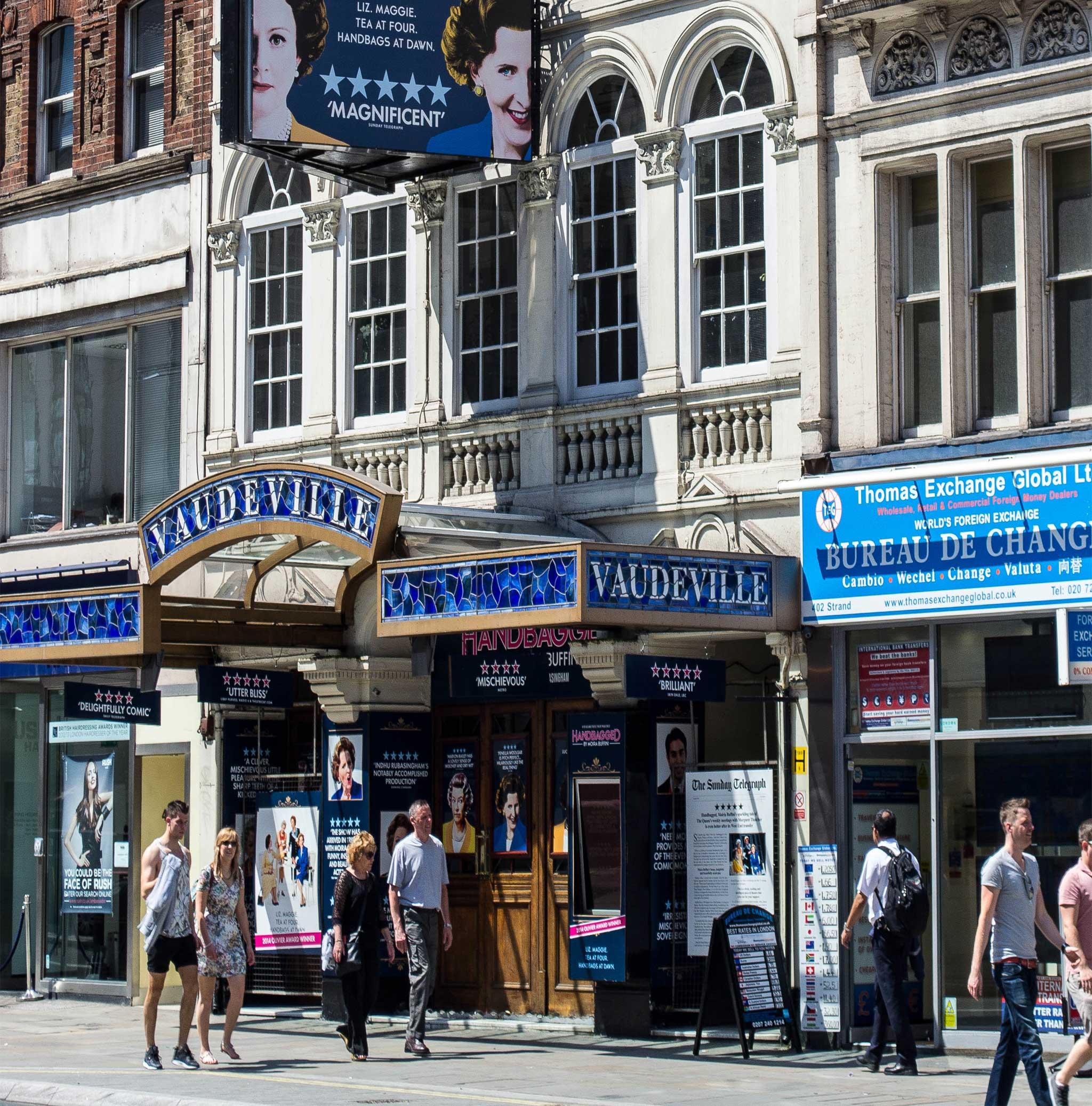 Vaudeville / Adelphi on London audio tour Theatreland Tour with Ian McKellen