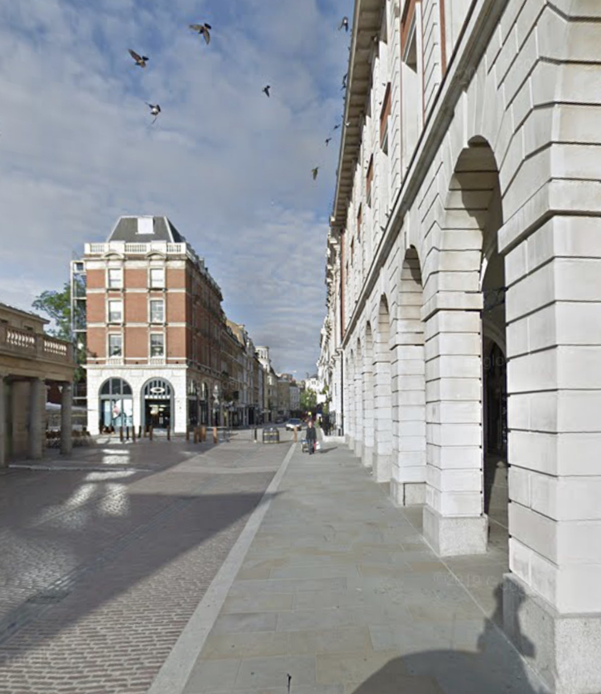 起点——考文特花园广场 on London audio tour 另辟蹊径的伦敦历史之旅