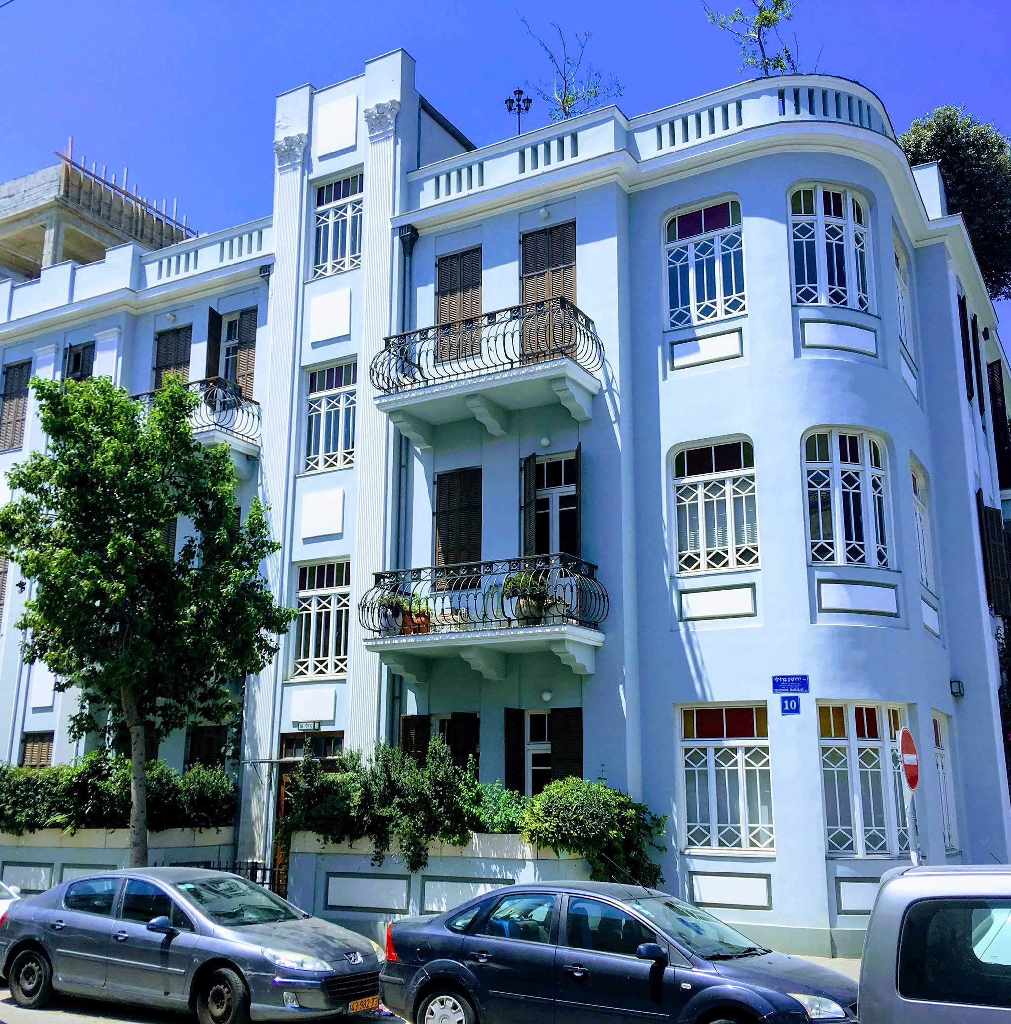 10 HaHashmal Street‏‎ on Tel Aviv audio tour The Electrifying Story of Gan HaHashmal and Its Architecture