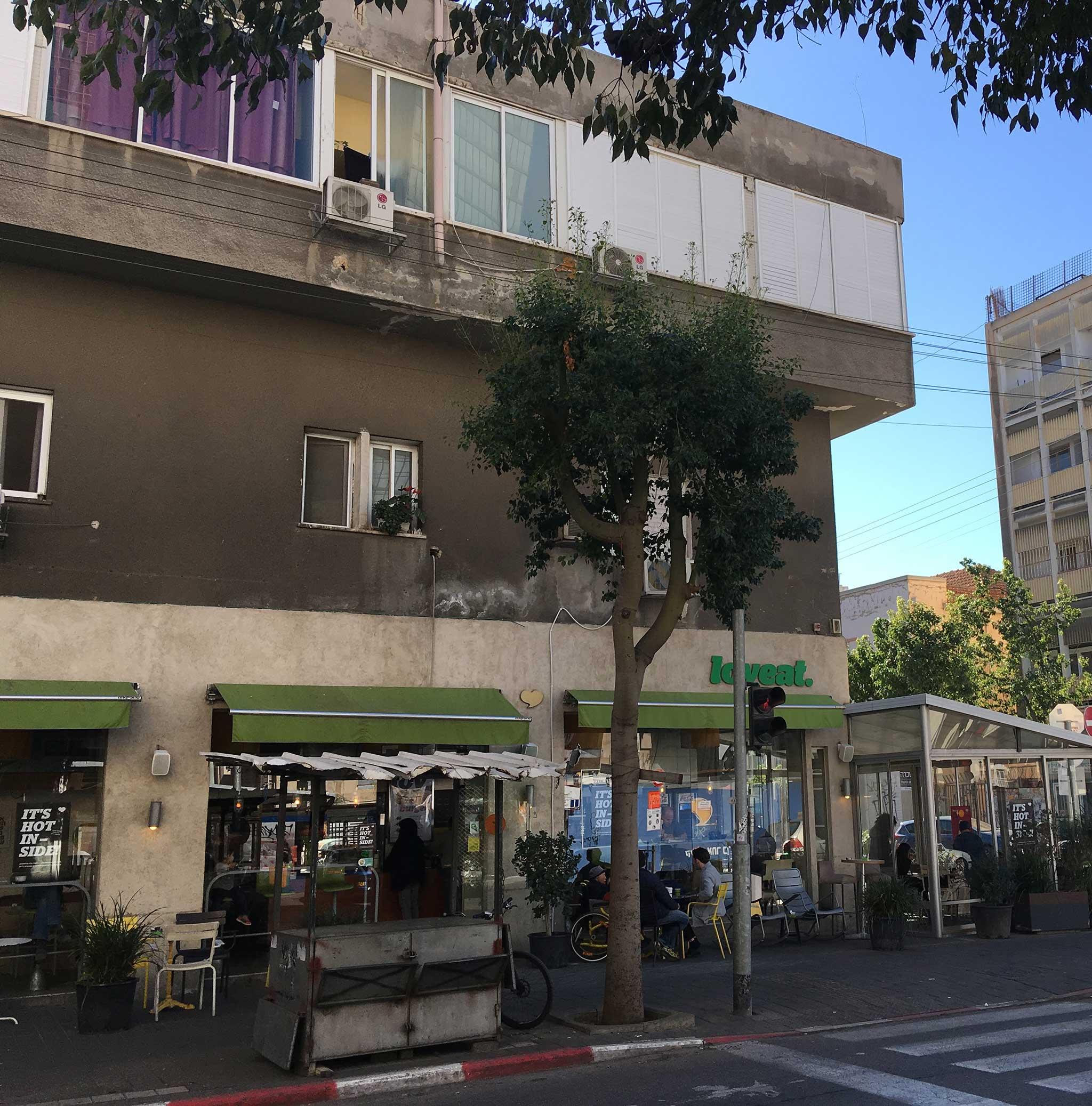 Along Mikve Israel Street on Tel Aviv audio tour The Electrifying Story of Gan HaHashmal and Its Architecture