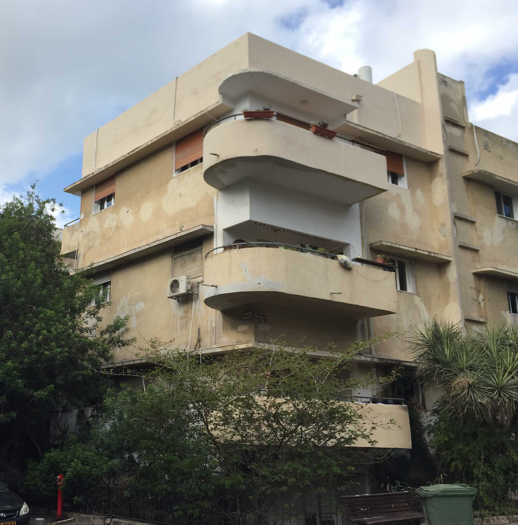 HaBima Theatre Houses on Tel Aviv audio tour The White City