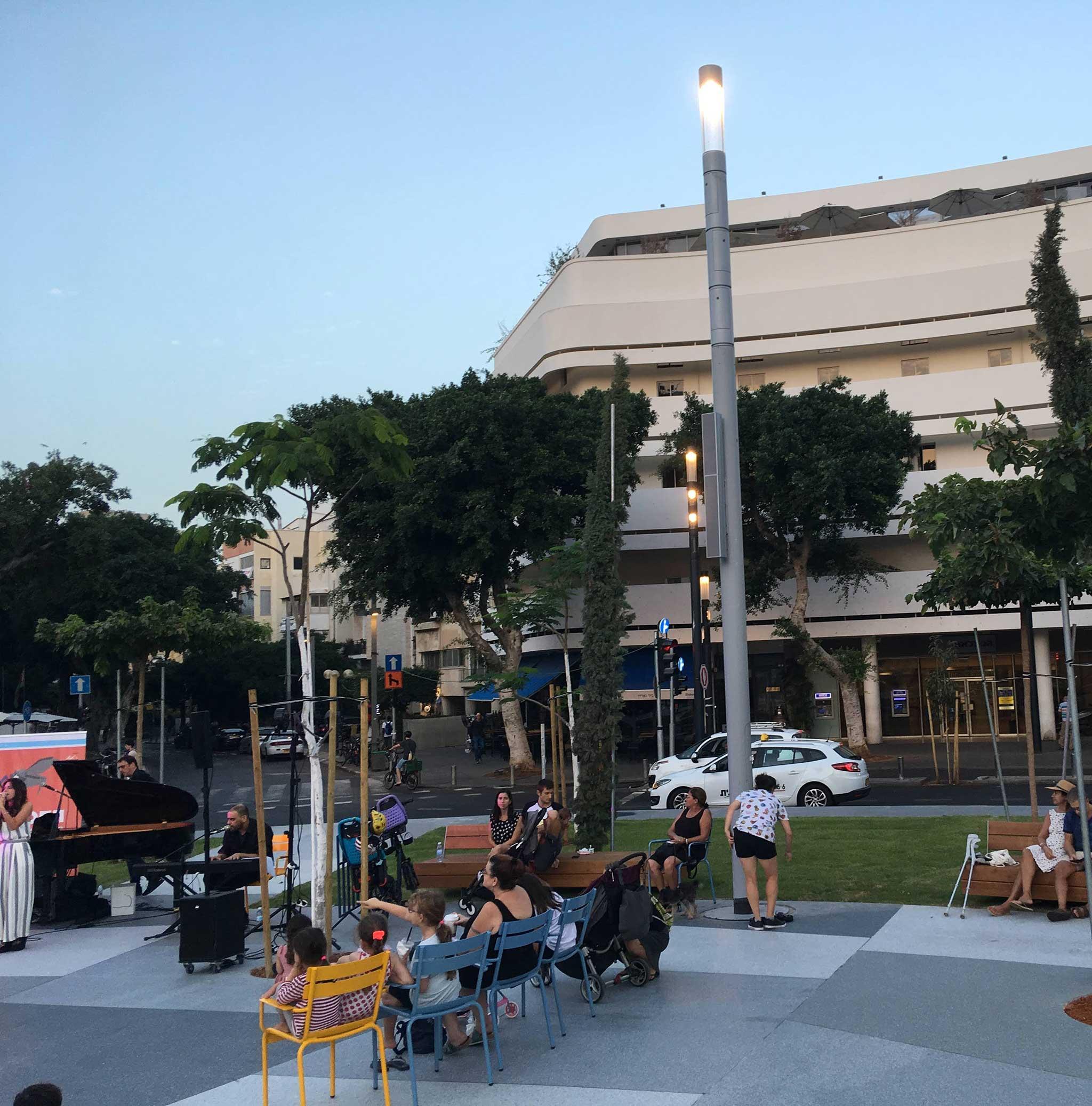 To Hotel Cinema on Tel Aviv audio tour The White City