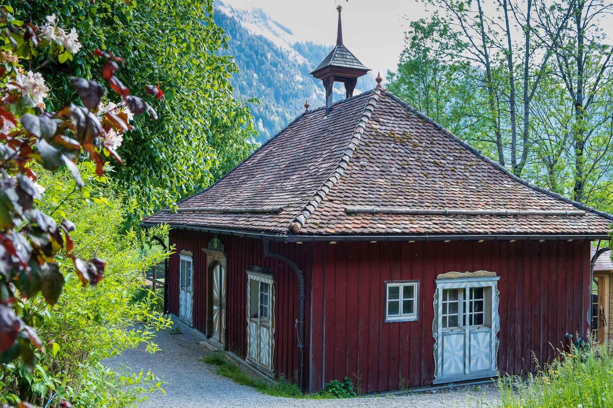 The Stables on Rossinière audio tour Cowbells, Chalets and Balthus: A Swiss Alpine Village Excursion