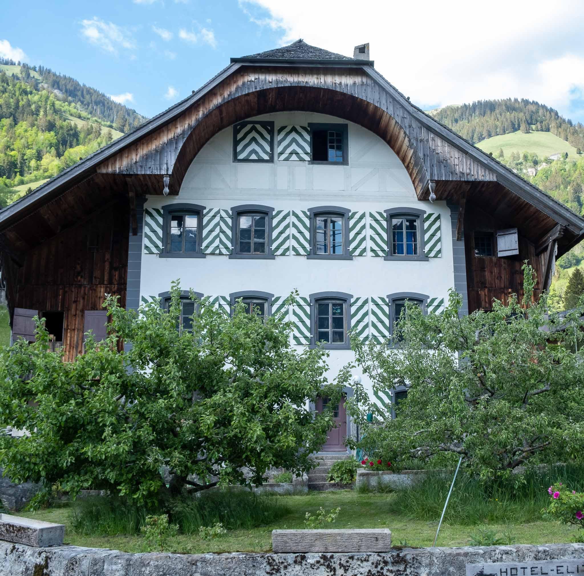 Minister's House on Rossinière audio tour Cowbells, Chalets and Balthus: A Swiss Alpine Village Excursion