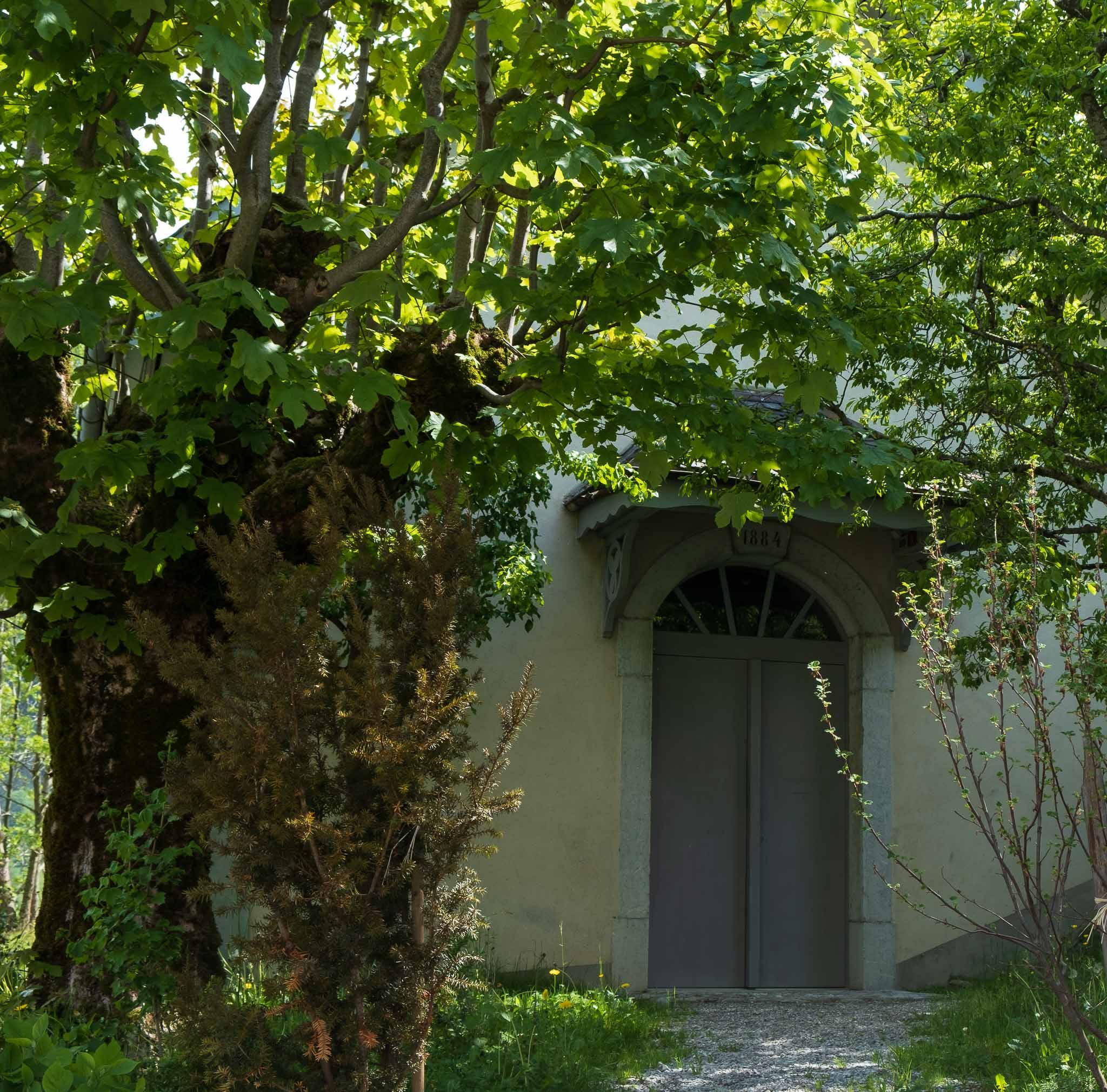 Balthus Chapel on Rossinière audio tour Cowbells, Chalets and Balthus: A Swiss Alpine Village Excursion