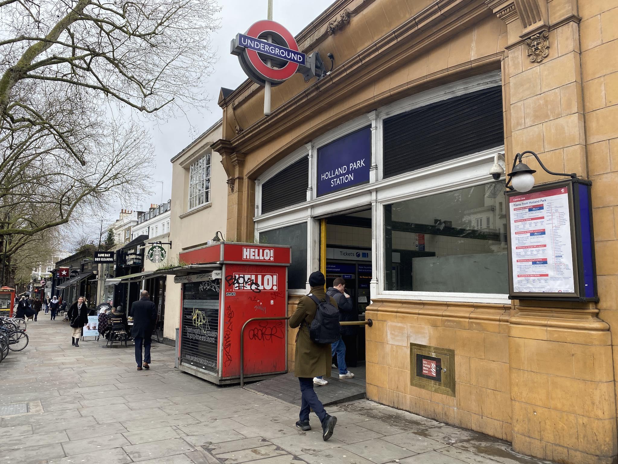 Bem-vindo! on London audio tour Notting Hill muito além do filme