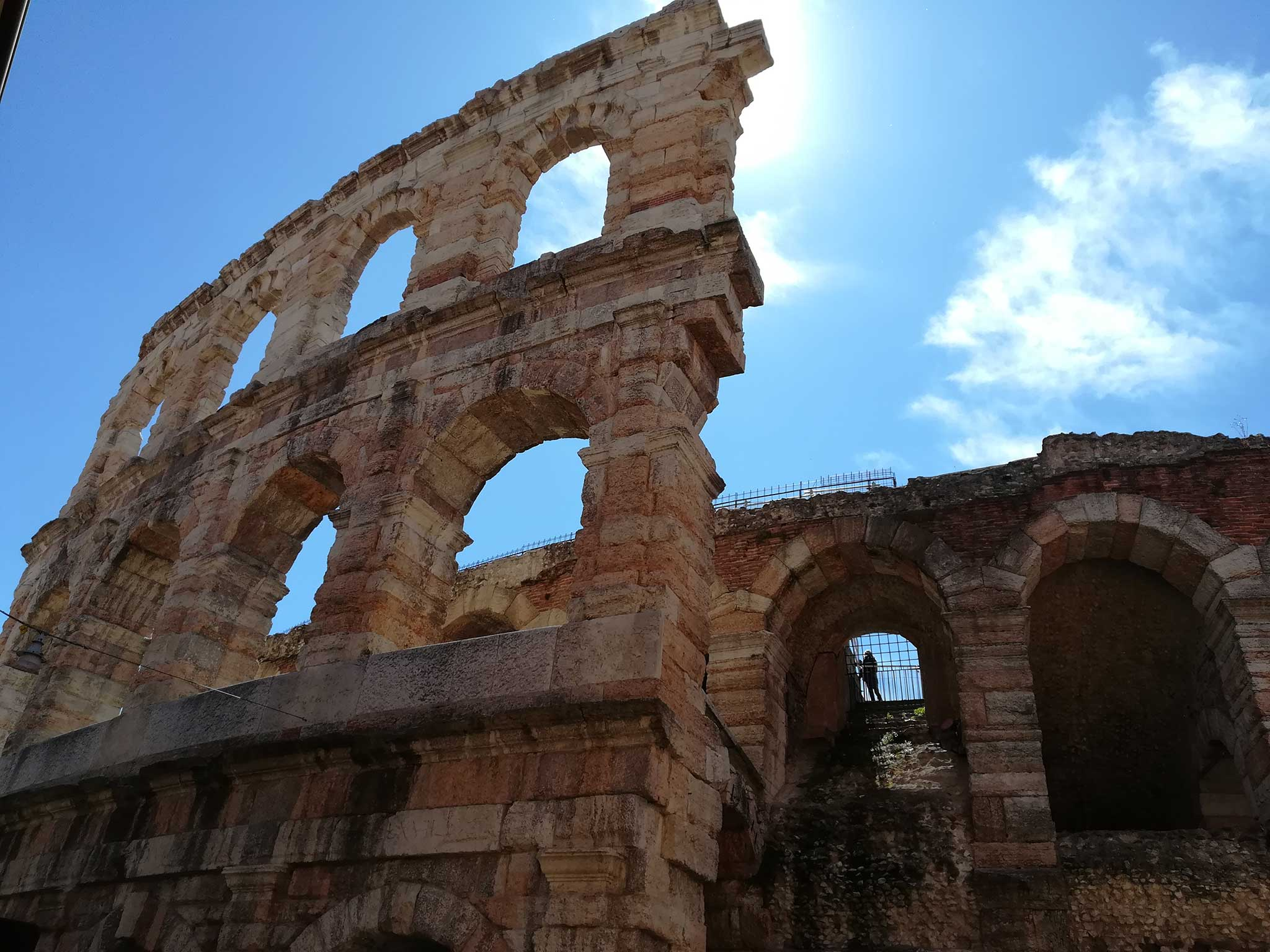 By the Ala of the Arena on Verona audio tour A stroll through the city of Romeo and Juliet