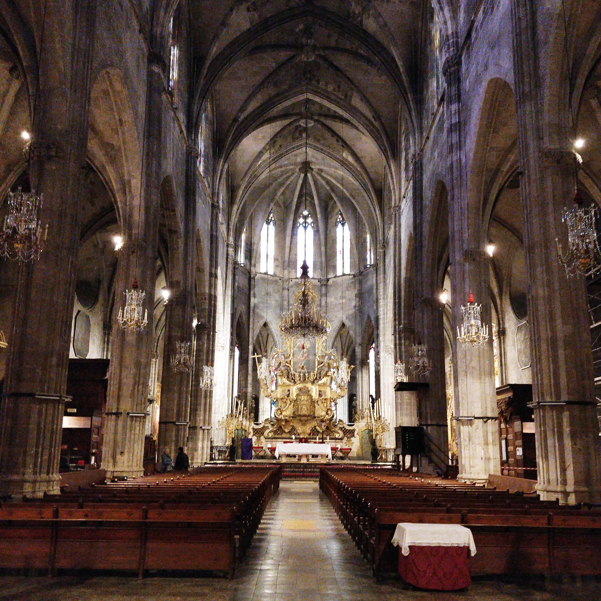 Santa Eulalia Church on Palma audio tour Palma's Alternative History Tour