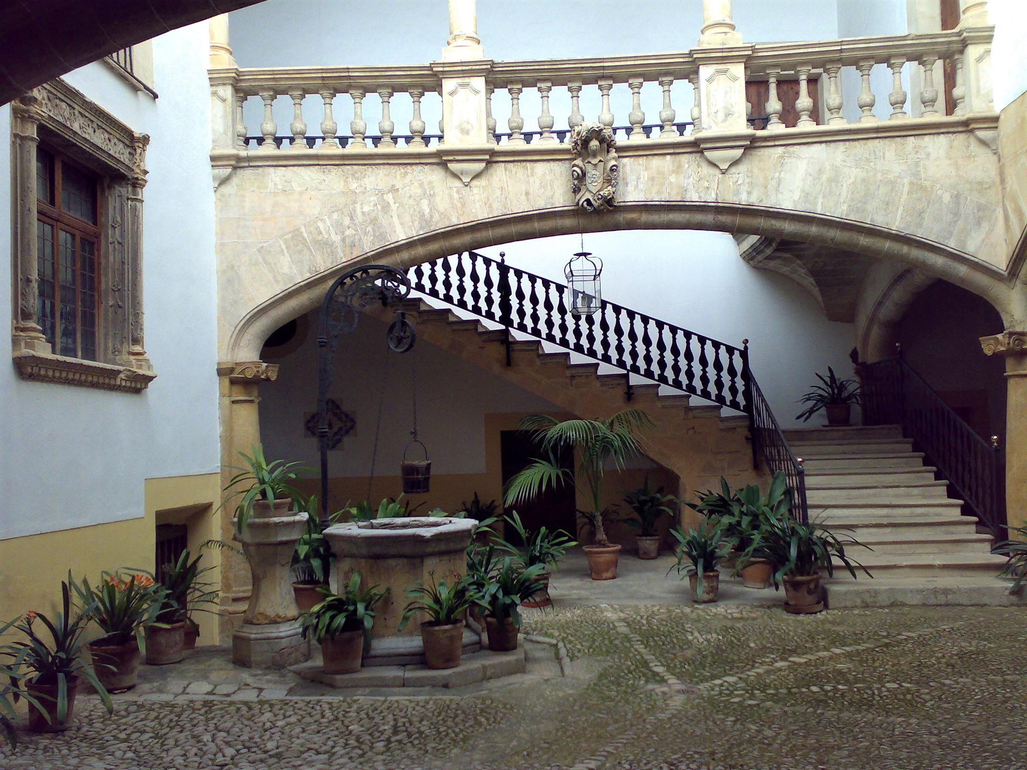 Along Carrer del Sant Crist on Palma audio tour Palma's Alternative History Tour