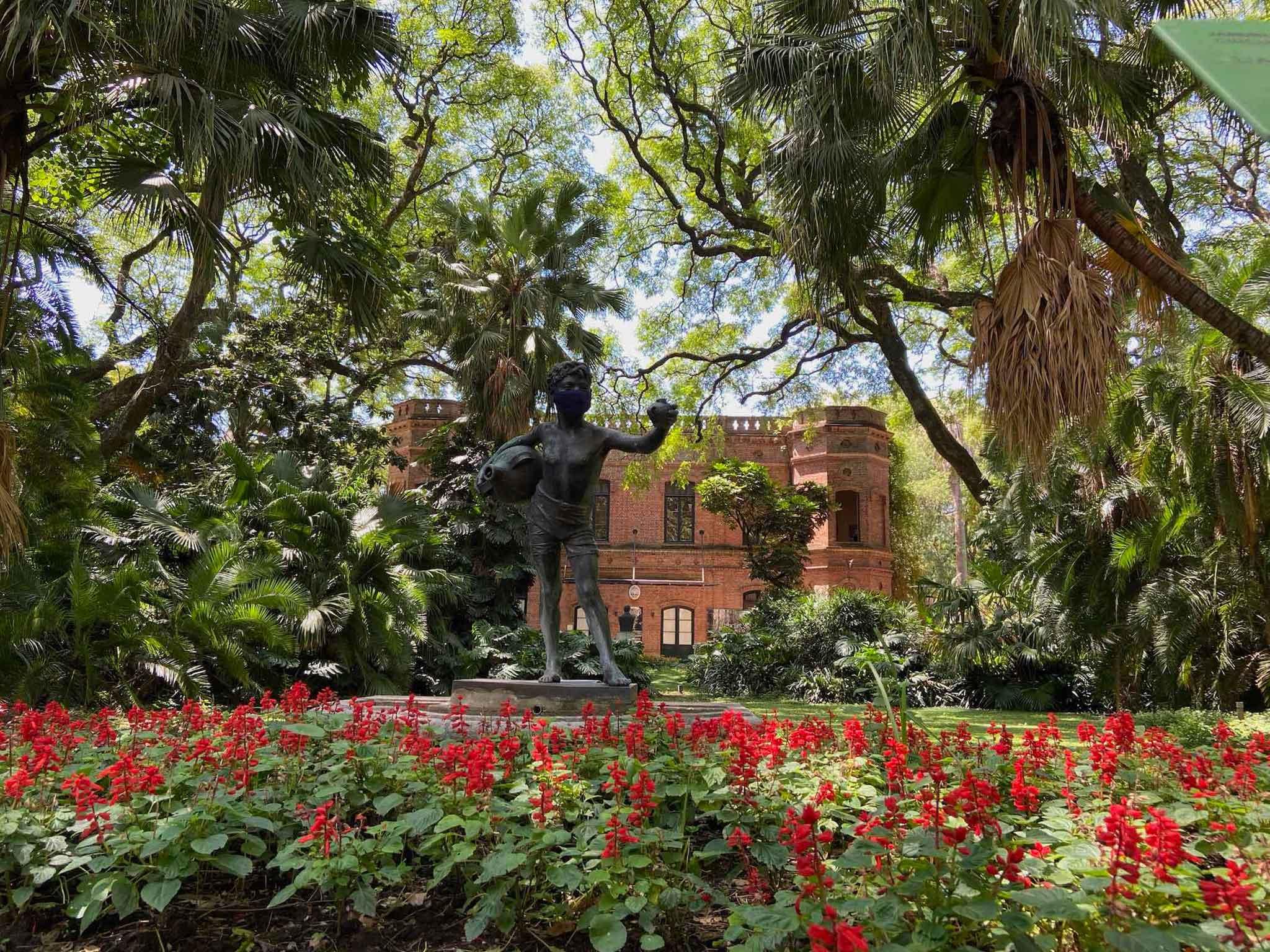 Carlos Thays Botanical Garden Entrance Buenos Aires Audio Guide App Voicemap