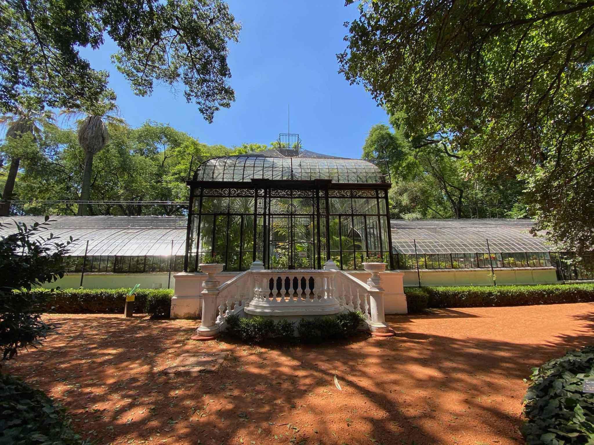 Carlos Thays Botanical Garden Greenhouse Buenos Aires Audio Guide App Voicemap