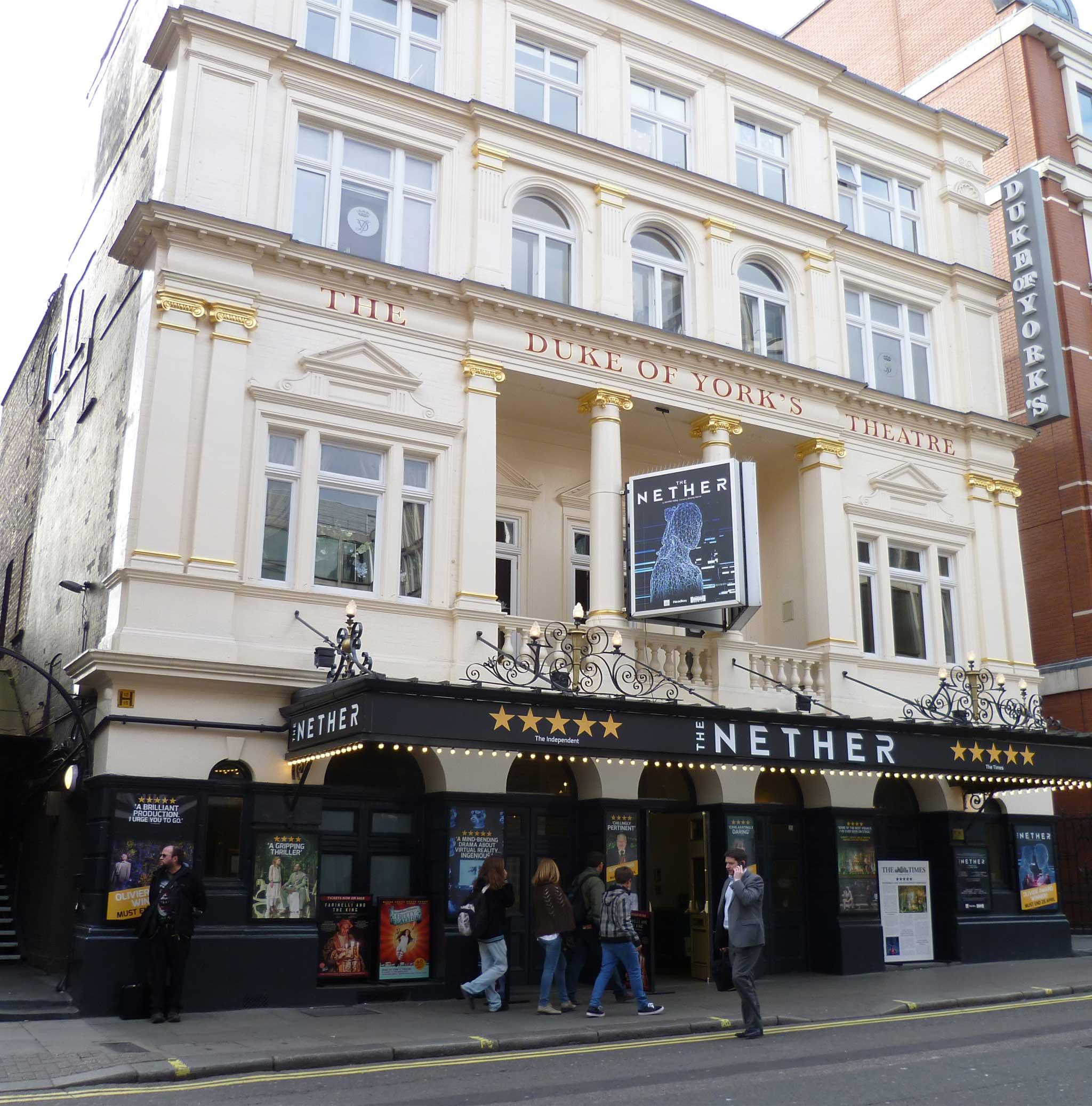 Duke of York's Theatre on London audio tour Theatreland Tour with Ian McKellen