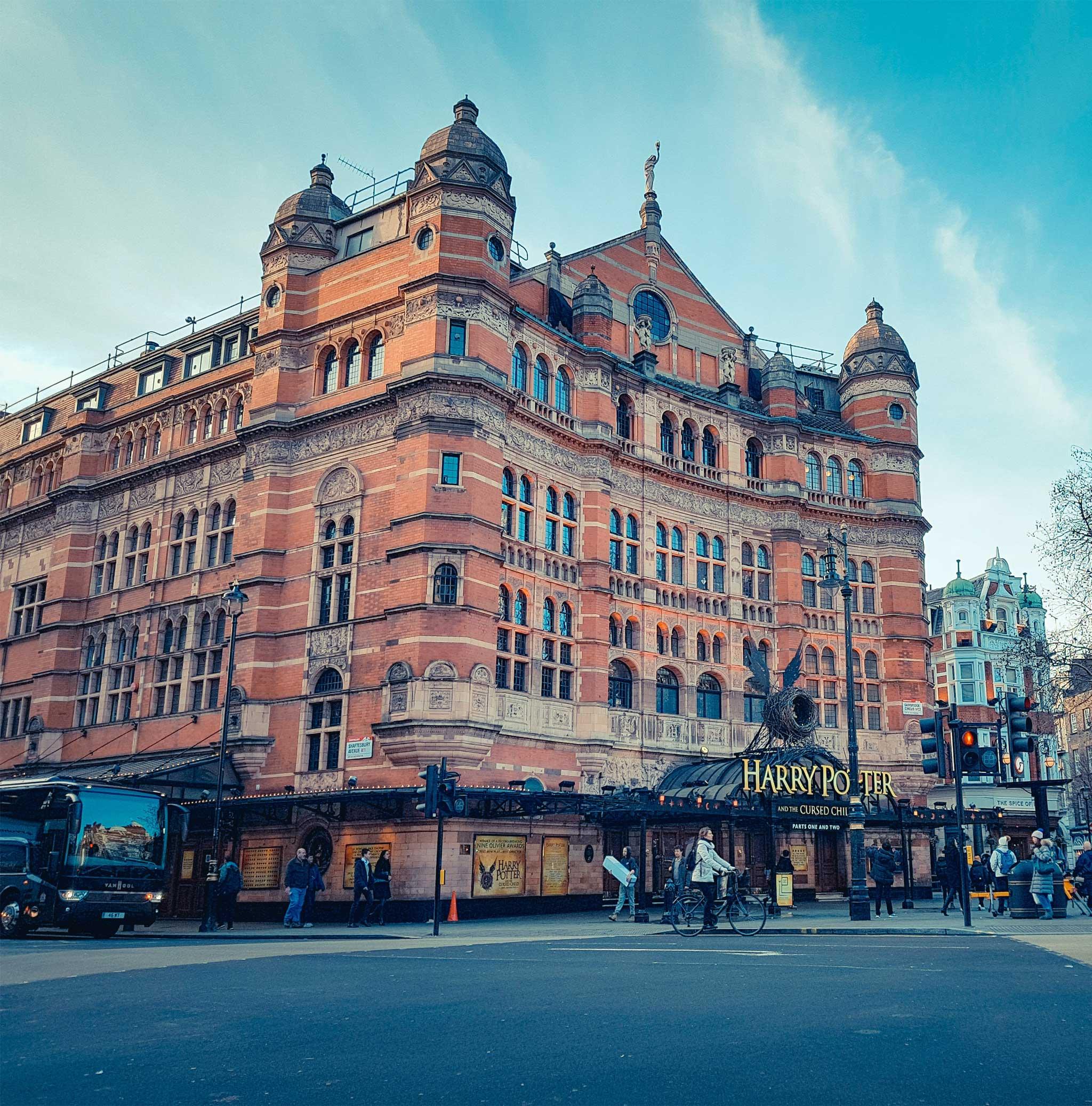 Palace Theatre on London audio tour Theatreland Tour with Ian McKellen